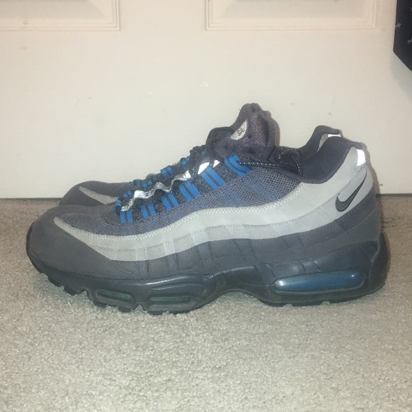 Men's Nike AirMax 95 GreyBlue Size 12